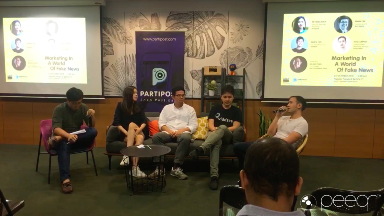 Insights from Popular Panels @ BLOCK71: Marketing in a World of Fake News
