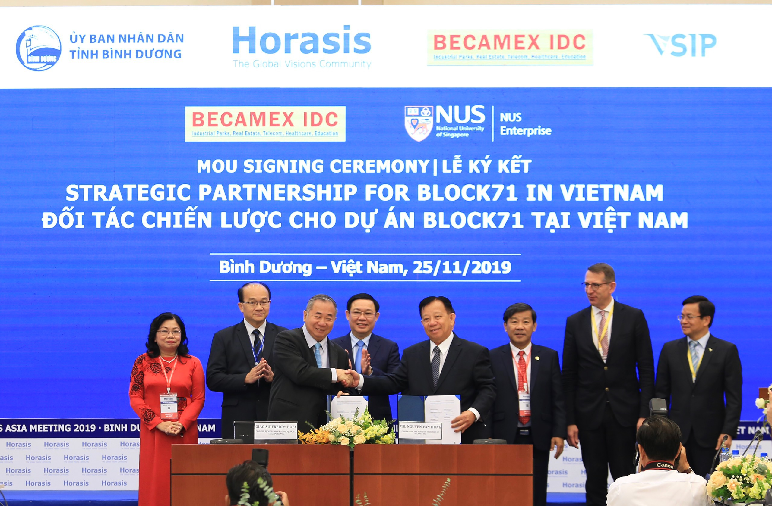 NUS Enterprise partners Becamex IDC to expand BLOCK71 to new location in Vietnam